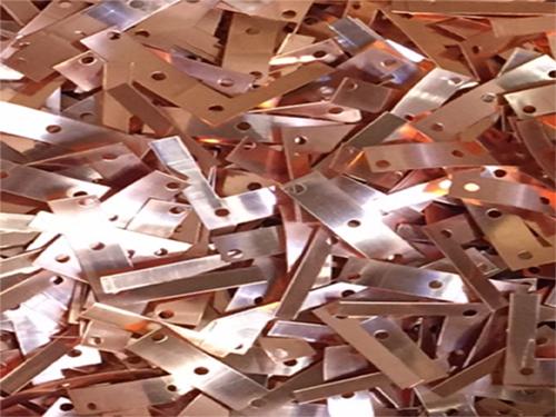strip Punch copper